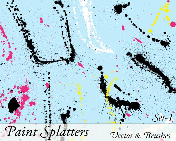 HD wallpapers vector splatter brushes illustrator